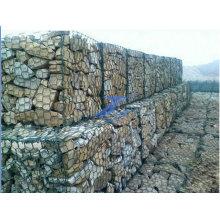 1X1X0.5m PVC Coated Hexagonal Wire Mesh Gabion