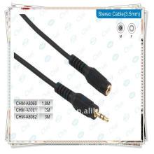 3,5 mm Kabel, Stecker auf Buchse 3,5 mm Audio Kabel