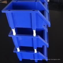 Compartimientos de almacenamiento de plástico en diferentes tamaños / compartimiento de almacenamiento de servicio liviano