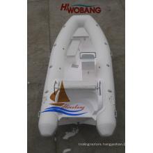 4.7m Fiberglass Rib Boat with Console for Sale
