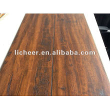 Registered Handscraped Surface/laminate flooring flexible