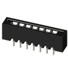 2.54mm FPC DIP straight  connector