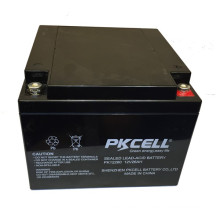 PKCELL 12v 26Ah maintenance-free sealed price of Lead acid battery 12v 26ah exide battery