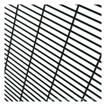 Best Selling Wholesale Factory Direct Supply Ral9005 Black Anti Climb Fence Steel Metal Powder Coated/hot Dipped Galvanized