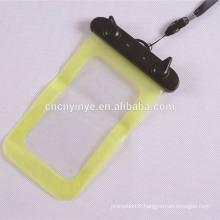 imperméable à l'eau de la promotinoal pvc de téléphone mobile sur roues duffle bag