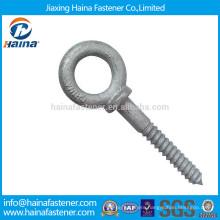 Customized carbon steel Hot Dip Galvanised eye screw