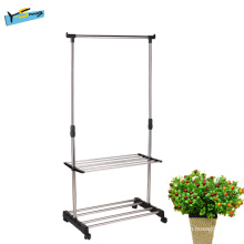 Stainless Steel Single Pole Lift Drying Rack for Balcony