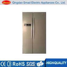 516L color option LED display refrigerator side by side