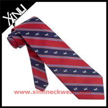 Corbata de seda de diseño de venta caliente