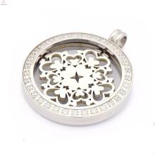 Fashion Interchangeable coin pendant necklaces,coin holder pendant