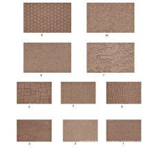 1220 * 2440 * 2.5mm 1220 * 2440 * 3mm en bois gaufré en bois dur panneau décoratif décoratif en carton dur décoratif