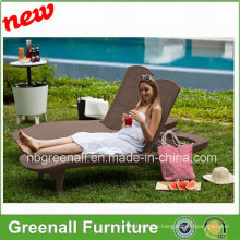 New Design Outdoor Rattan Leisure Sun Bed