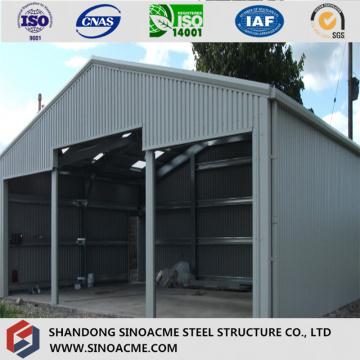 High Grade ISO Certificated Pre Enigneered Garage/Storage/Warehouse