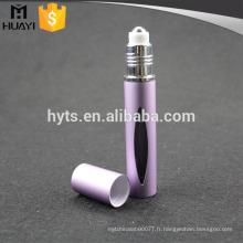 Rouleau de 10ml de haute qualité sur la bouteille en verre avec le matériel en aluminium pour le parfum