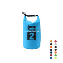 Custom Logo 500D Roll Top PVC 2L Water Proof Dry Bag