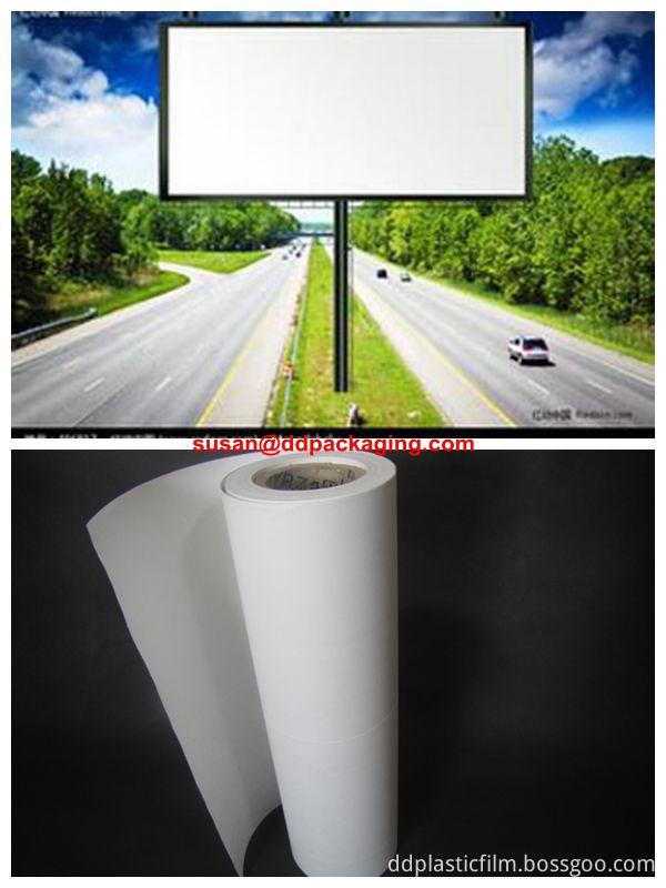 white PET film application 03