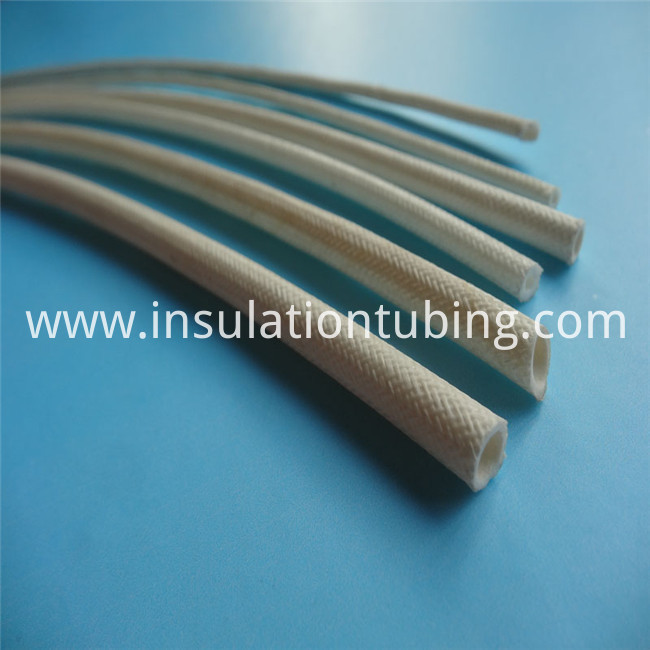 Fireproof Silicone Covered Fiberglass Braided Sleeve