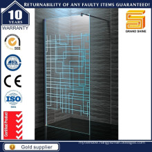 Australia Standard Blue Cross Line Shower Glass Doors