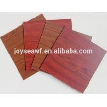 Panneaux agglomérés / panneaux de particules de mélamine à bonne qualité fabriqués pour les meubles de maison