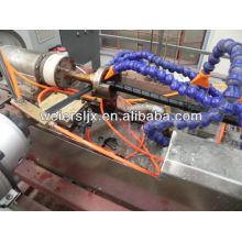 PE PP spiral wrapping band machine