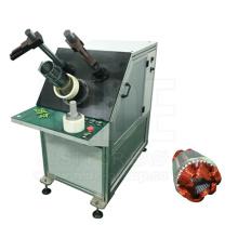 Machine d'insertion de bobine de stator à moteur à induction de type économique