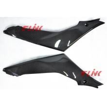Piezas de la fibra de carbono de la motocicleta El panel lateral para Suzuki Gsxr 1000 07-08 (K7)