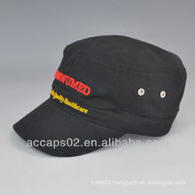 embroidery military cap for sale