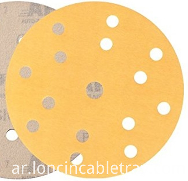 Sand Paper Round 150mm 15 Holes