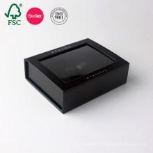 Logo personnalisé fait sur commande de papier d'emballage de carton de boîte de cadeau de luxe de mariage de vente chaude