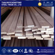 China fabricar aço inoxidável sus 304 316 flat bar price