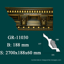 modern home building material crown moulding angles with high density
