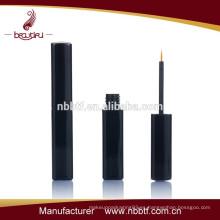 Botella profesional cosmética del delineador negro, envase cosmético del eyeliner