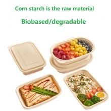 Folha de plástico PLA biodegradável à base de amido de milho