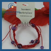 Folded Necklace Jewelry Display Card (CMG-028)