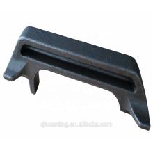 Feinguss aus legiertem Stahl mit maschinell bearbeitetem Material