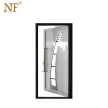 Italian rustic front luxury aluminum entry sliding  door