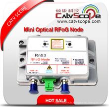 Fournisseur professionnel High Performance CATV FTTH Mini Récepteur réseau optique ONU Rfog Node