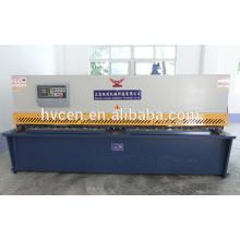 Qc12y-4x2500 máquina de corte hidráulico / máquina de corte de aluminio