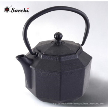 1200ML Chinese Enamel Cast Iron Teapot with Stainless Steel Infuser