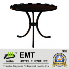 Mesa de centro doblada circular de la pierna del diseño del arte 2016 (EMT-CT07)