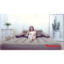 SUNGOOLE Inflatable Mattresses, Air bed Mattress, inflatable air beds self inflating  blow up single bed built in air bed pump
