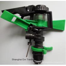 Plastic garden irrigation water sprinkler head