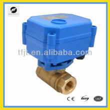 CWX15 DN8 электронный привод шаровой клапан для воздуха-теплой клапан.ОВК и пожарной полете служба пожаротушения