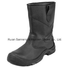 Black Leather Upper Safety Rigger Boot with CE Certificate (SN1358)