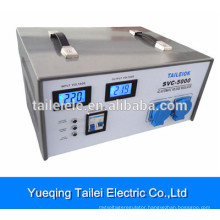 LED type SVC automatic 5000w voltage stabilizer for tv SVC-5000VA