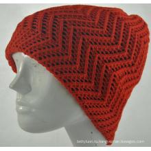 Девушки Теплый Мода вязать шапочка Cap (KB-080001)