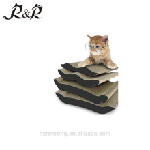 New product distributor wanted corrugated cardboard cat scratcher best self play claw cat scratcher CS-3018