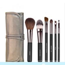 6PCS Goat Hair Professional Makeup Brush Set for Eye Shadows Eyeliner