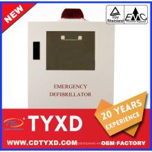 2017 nuevo gabinete de desfibrilador aed primeros auxilios para AED
