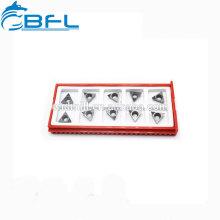 Herramienta de corte CNC BFL Insertos de carburo para procesamiento de acero / metal